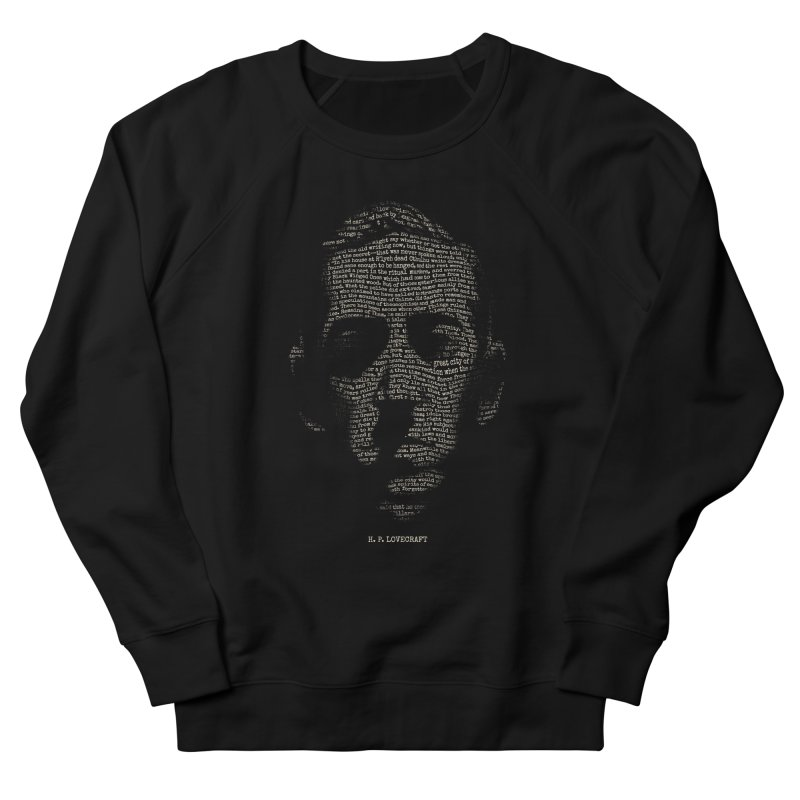 H.P. Lovecraft - Necronomicon Men's French Terry Sweatshirt by 6amcrisis's Artist Shop