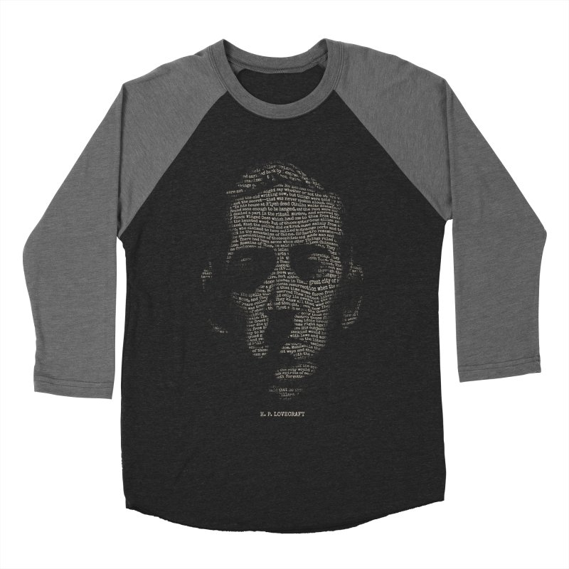 H.P. Lovecraft - Necronomicon Men's Baseball Triblend T-Shirt by 6amcrisis's Artist Shop