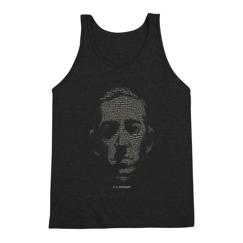 H.P. Lovecraft - Necronomicon Men's Triblend Tank by 6amcrisis's Artist Shop