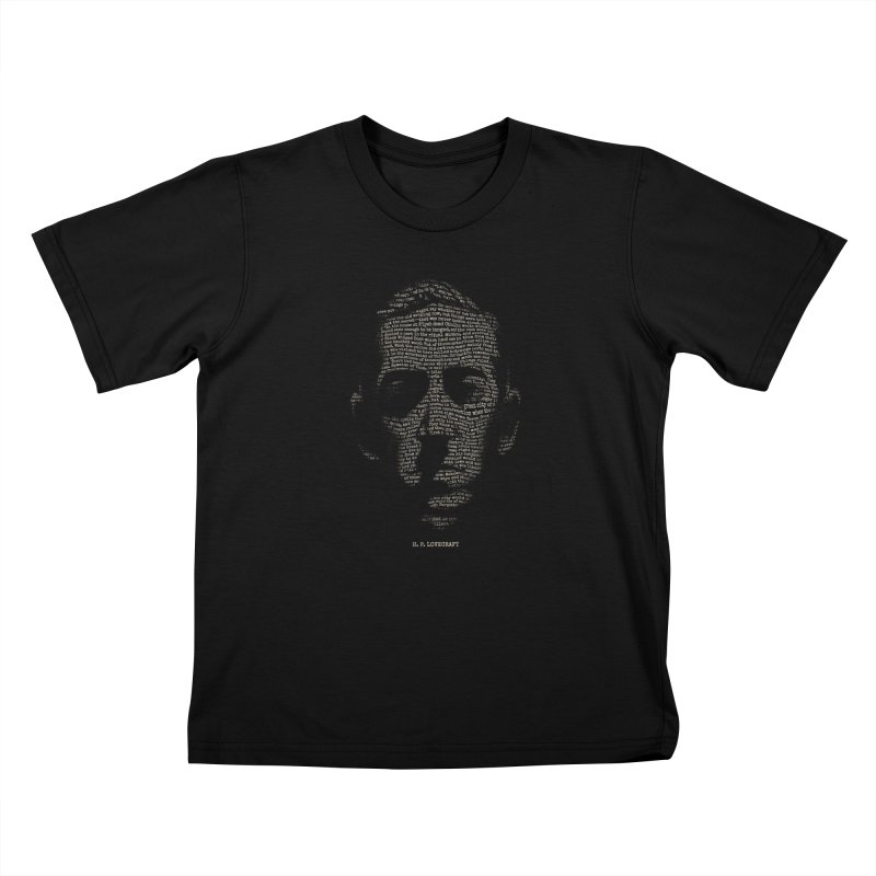 H.P. Lovecraft - Necronomicon Kids Toddler T-Shirt by 6amcrisis's Artist Shop