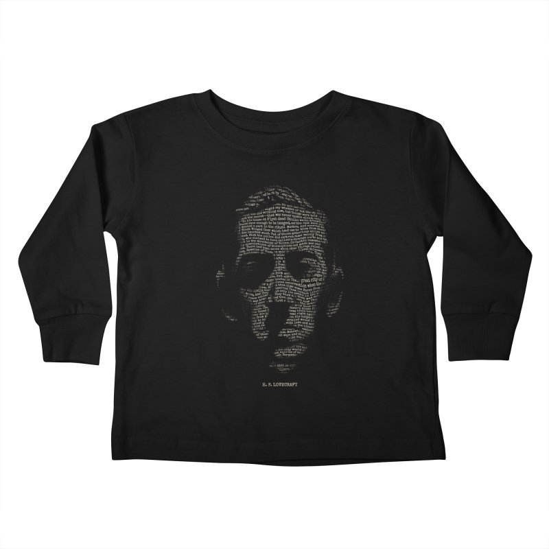 H.P. Lovecraft - Necronomicon Kids Toddler Longsleeve T-Shirt by 6amcrisis's Artist Shop