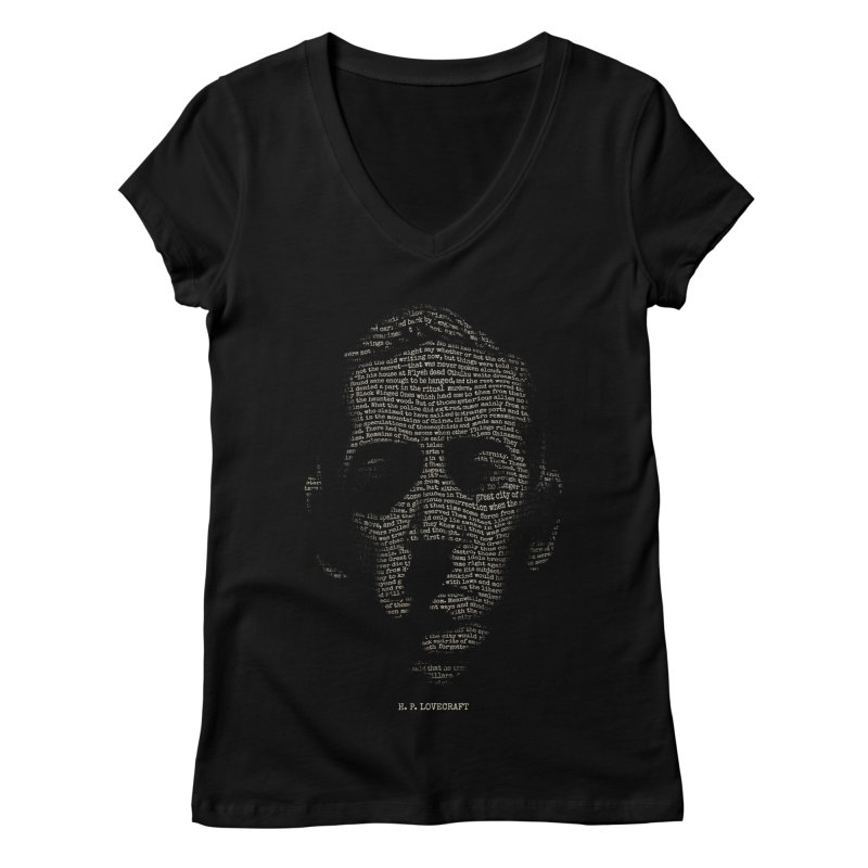 H.P. Lovecraft - Necronomicon Women's V-Neck by 6amcrisis's Artist Shop