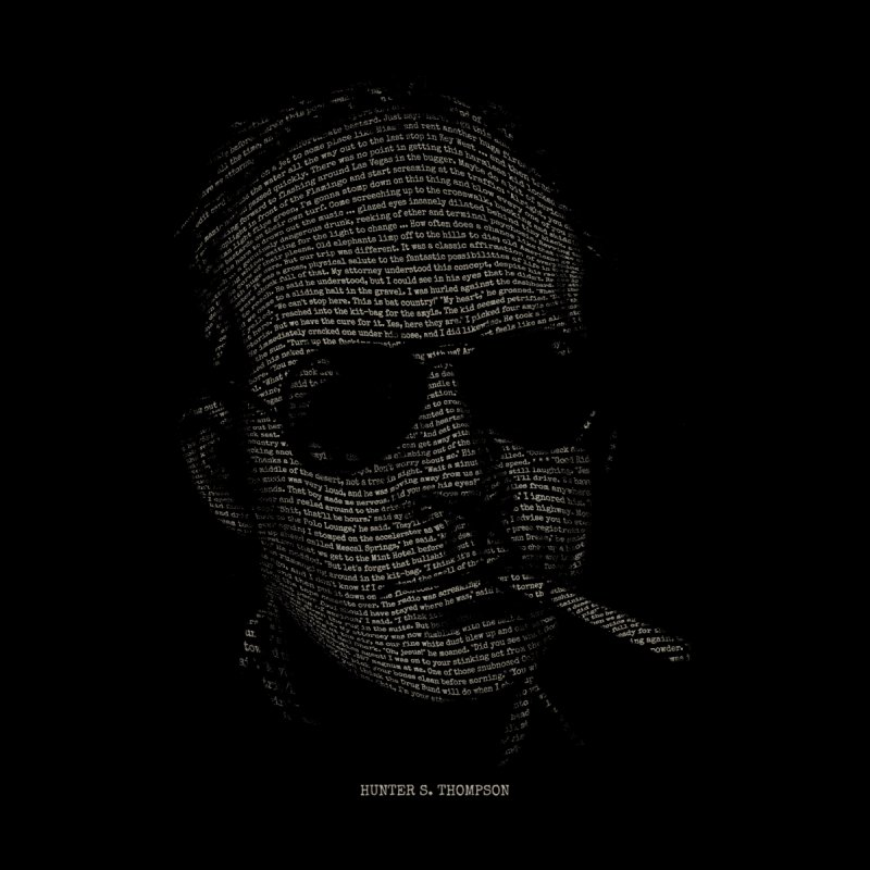 Hunter S. Thompson - Gonzo by 6amcrisis's Artist Shop
