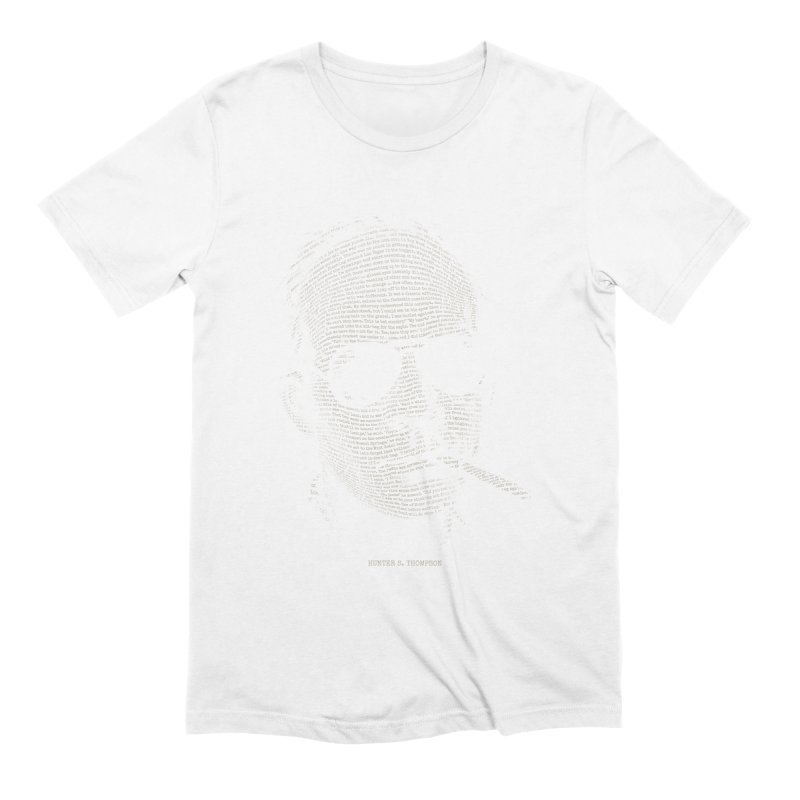 Hunter S. Thompson - Gonzo Men's Extra Soft T-Shirt by 6amcrisis's Artist Shop