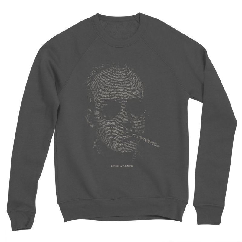 Hunter S. Thompson - Gonzo Men's Sponge Fleece Sweatshirt by 6amcrisis's Artist Shop