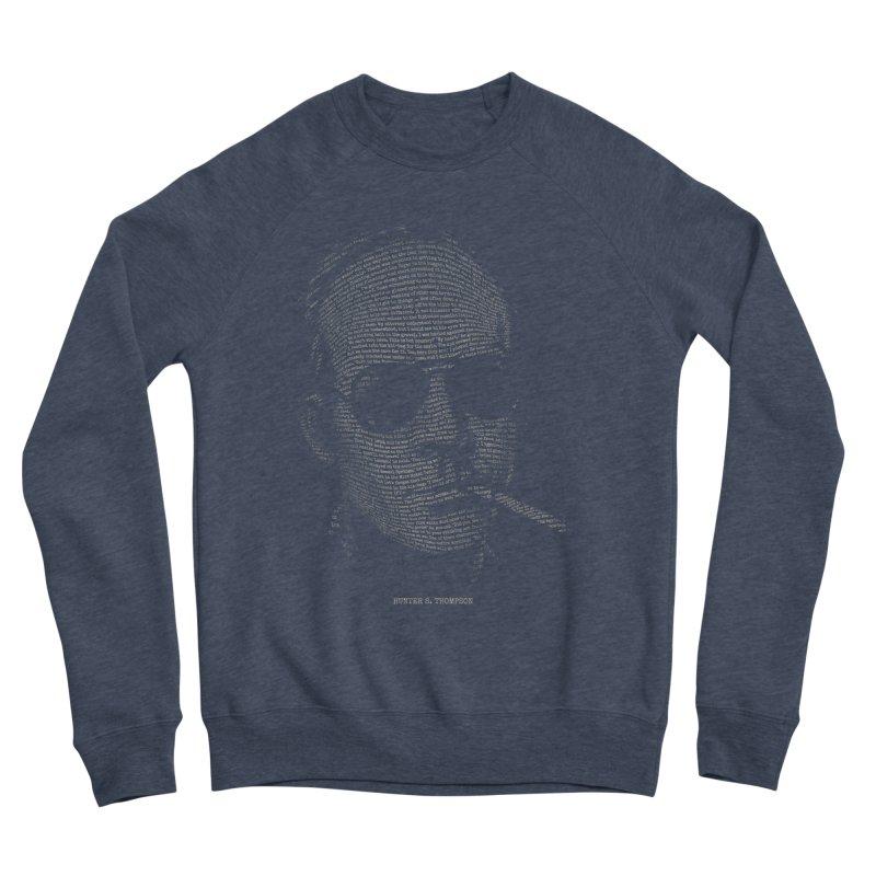 Hunter S. Thompson - Gonzo Men's Sponge Fleece Sweatshirt by 6amcrisis's Artist Shop