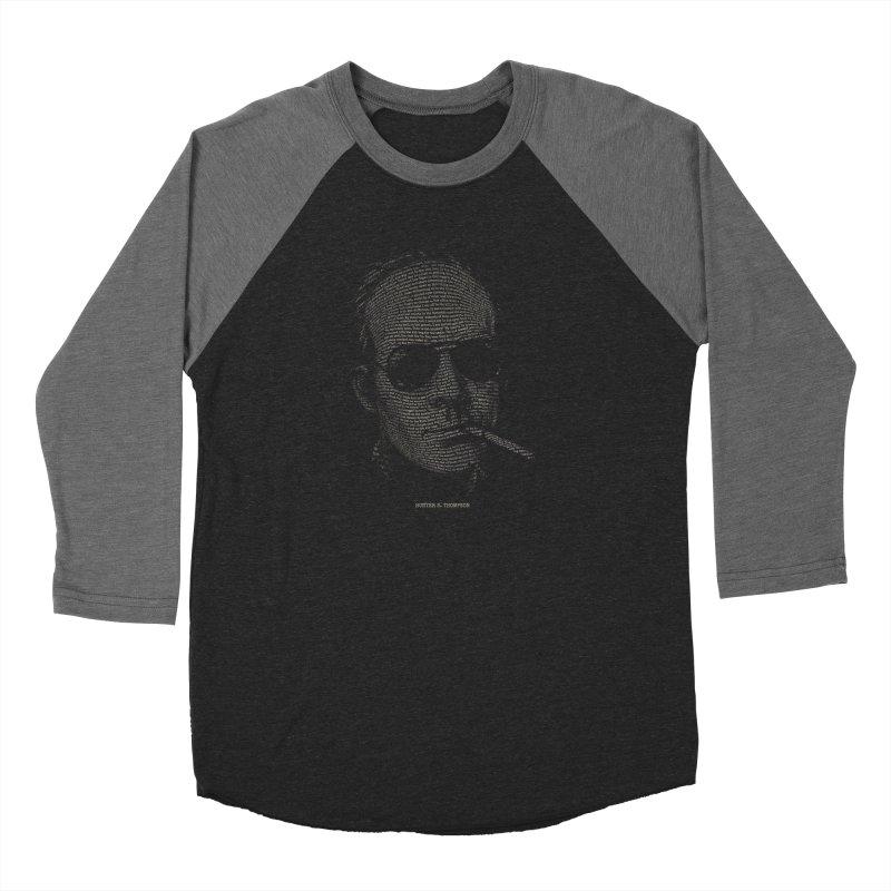 Hunter S. Thompson - Gonzo Men's Baseball Triblend Longsleeve T-Shirt by 6amcrisis's Artist Shop