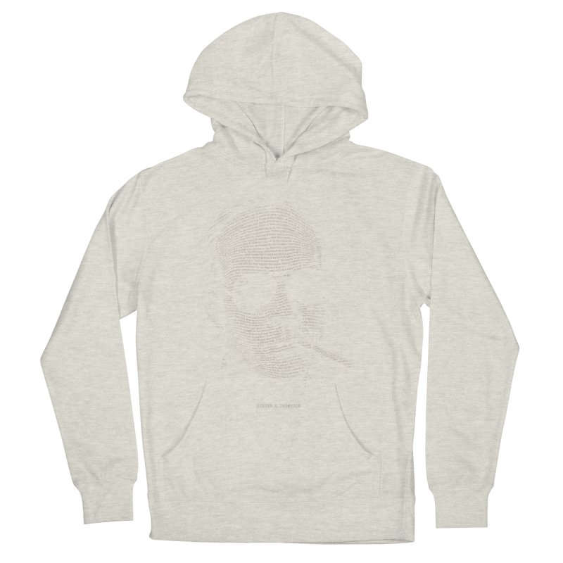 Hunter S. Thompson - Gonzo Men's French Terry Pullover Hoody by 6amcrisis's Artist Shop