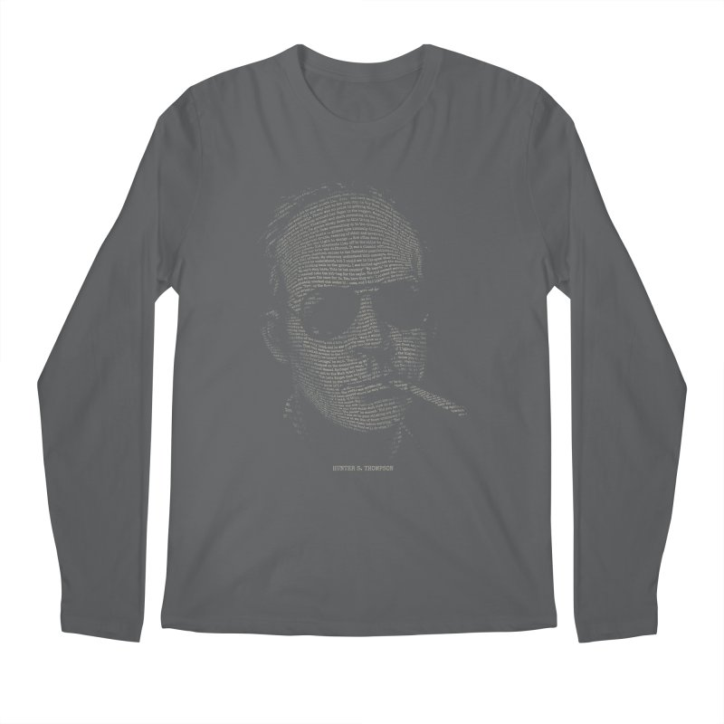 Hunter S. Thompson - Gonzo Men's Regular Longsleeve T-Shirt by 6amcrisis's Artist Shop