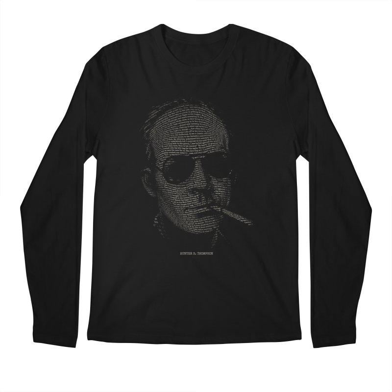 Hunter S. Thompson - Gonzo Men's Longsleeve T-Shirt by 6amcrisis's Artist Shop