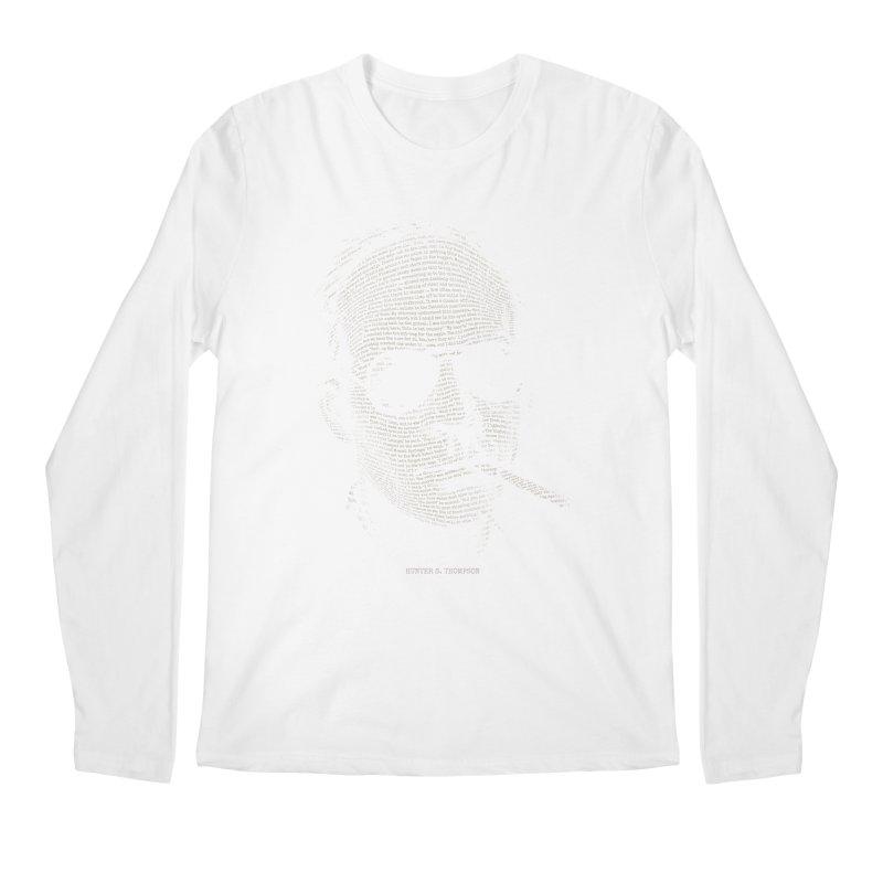 Hunter S. Thompson - Gonzo Men's Regular Longsleeve T-Shirt by 6amcrisis's Artist Shop