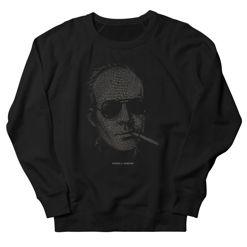 Hunter S. Thompson - Gonzo Women's French Terry Sweatshirt by 6amcrisis's Artist Shop