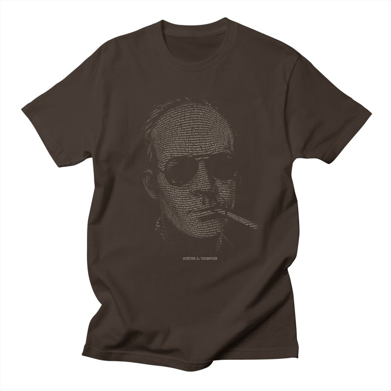 Hunter S. Thompson - Gonzo Men's Regular T-Shirt by 6amcrisis's Artist Shop