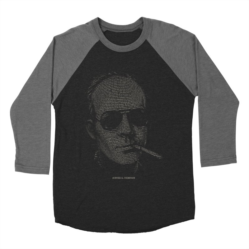 Hunter S. Thompson - Gonzo Women's Baseball Triblend Longsleeve T-Shirt by 6amcrisis's Artist Shop