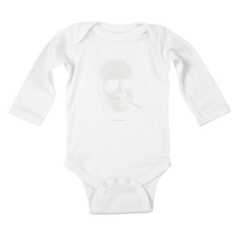 Hunter S. Thompson - Gonzo Kids Baby Longsleeve Bodysuit by 6amcrisis's Artist Shop