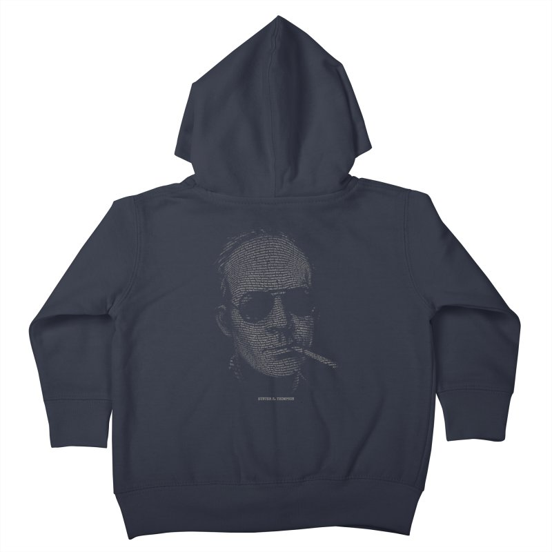 Hunter S. Thompson - Gonzo Kids Toddler Zip-Up Hoody by 6amcrisis's Artist Shop