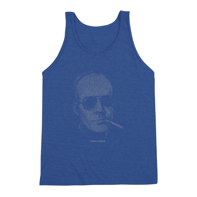 Hunter S. Thompson - Gonzo Men's Triblend Tank by 6amcrisis's Artist Shop