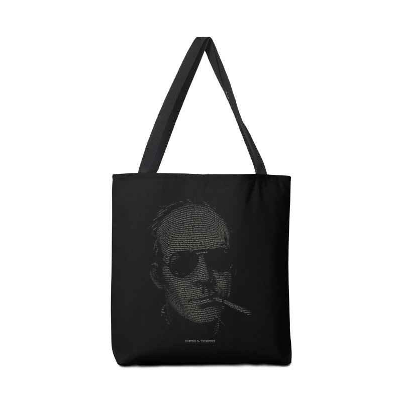 Hunter S. Thompson - Gonzo Accessories Tote Bag Bag by 6amcrisis's Artist Shop