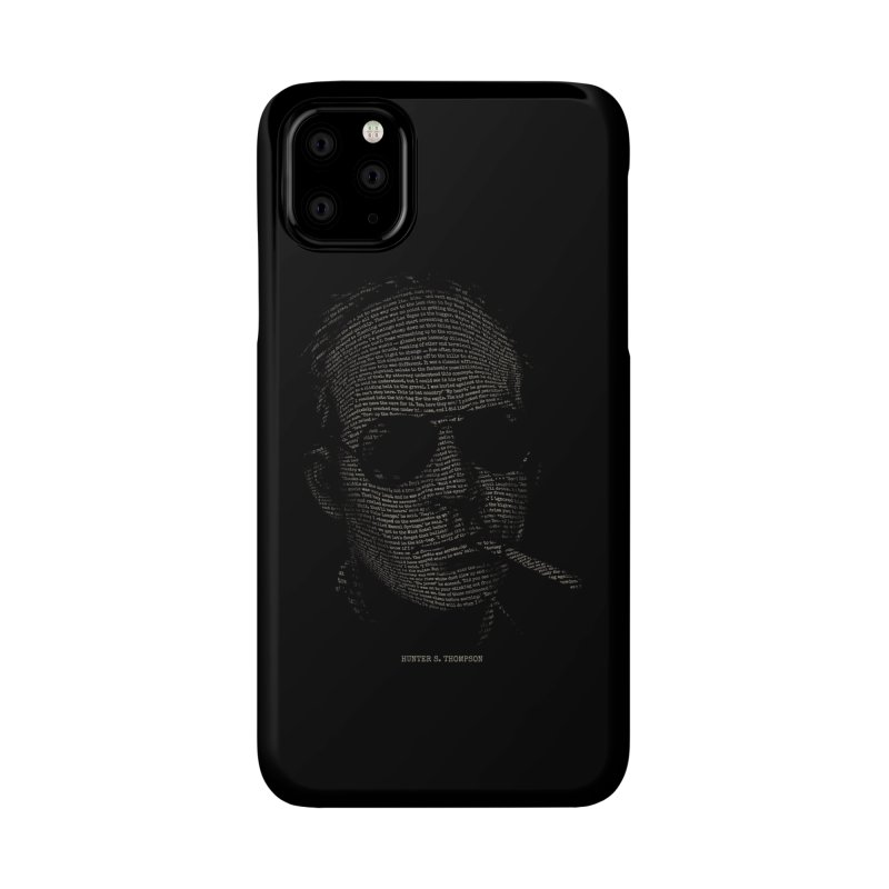 Hunter S. Thompson - Gonzo Accessories Phone Case by 6amcrisis's Artist Shop