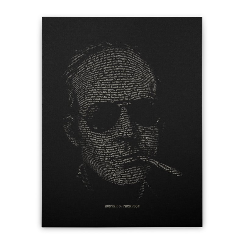 Hunter S. Thompson - Gonzo Home Stretched Canvas by 6amcrisis's Artist Shop