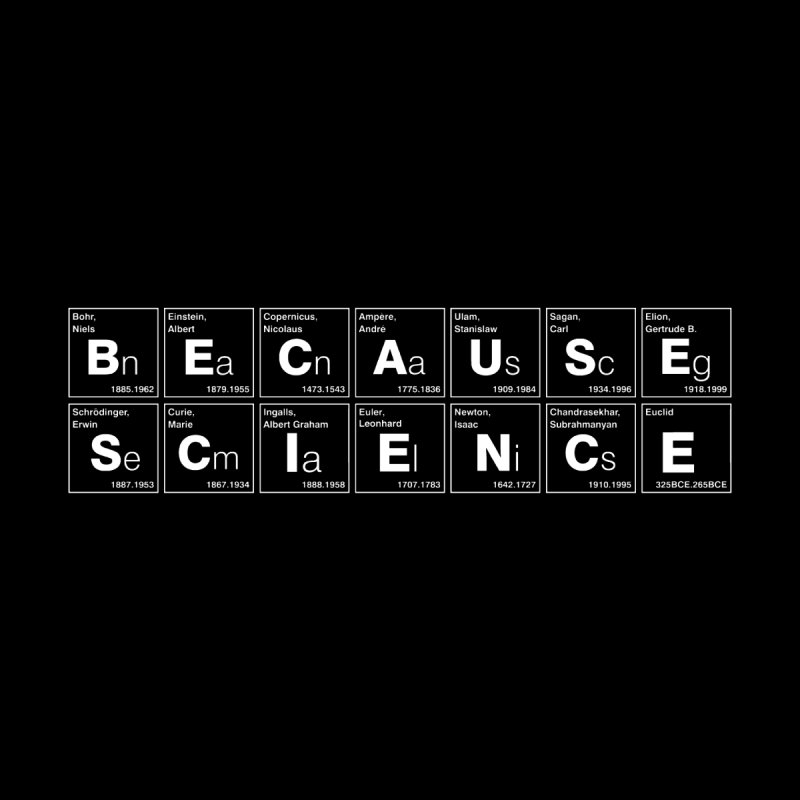 Because Science! Women's T-Shirt by 6amcrisis's Artist Shop