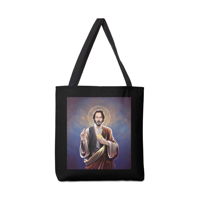 Keanu Reeves - Saint Keanu of Reeves Accessories Bag by 6amcrisis's Artist Shop