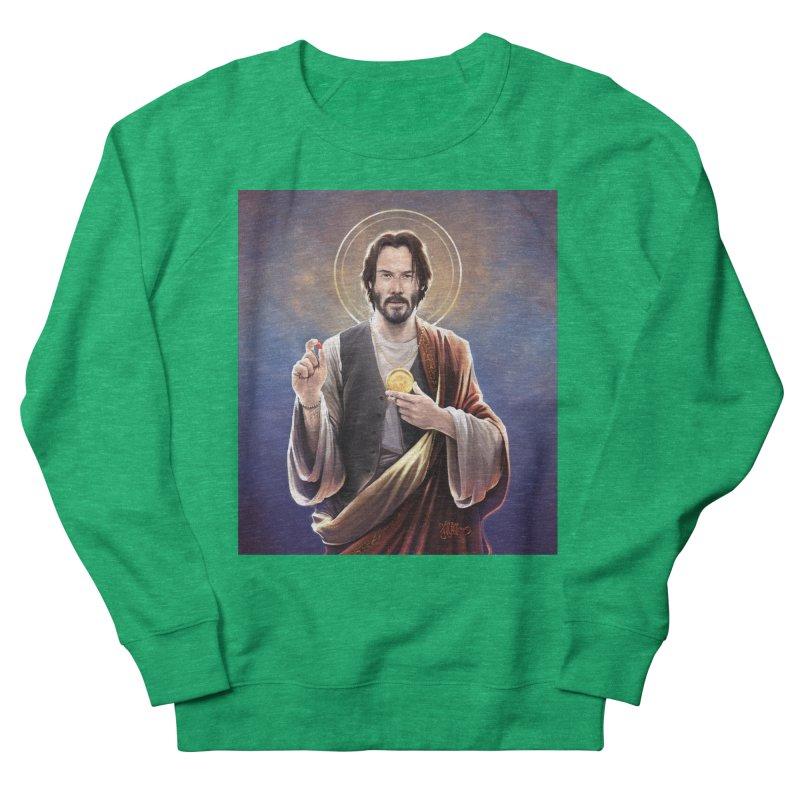 Keanu Reeves - Saint Keanu of Reeves Women's Sweatshirt by 6amcrisis's Artist Shop