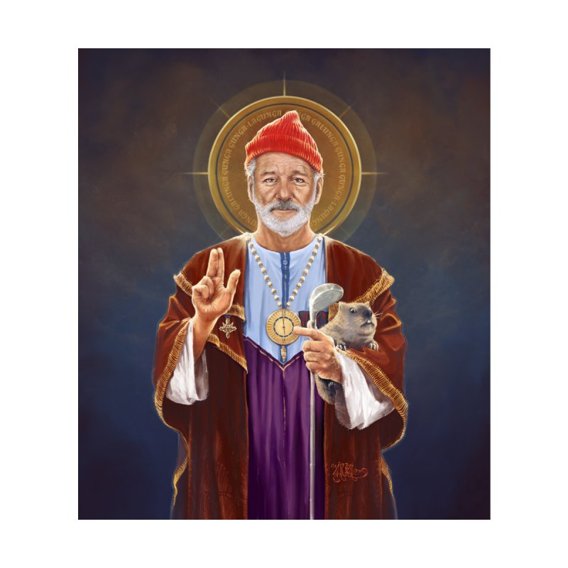Saint Bill of Murray Accessories Beach Towel by 6amcrisis's Artist Shop