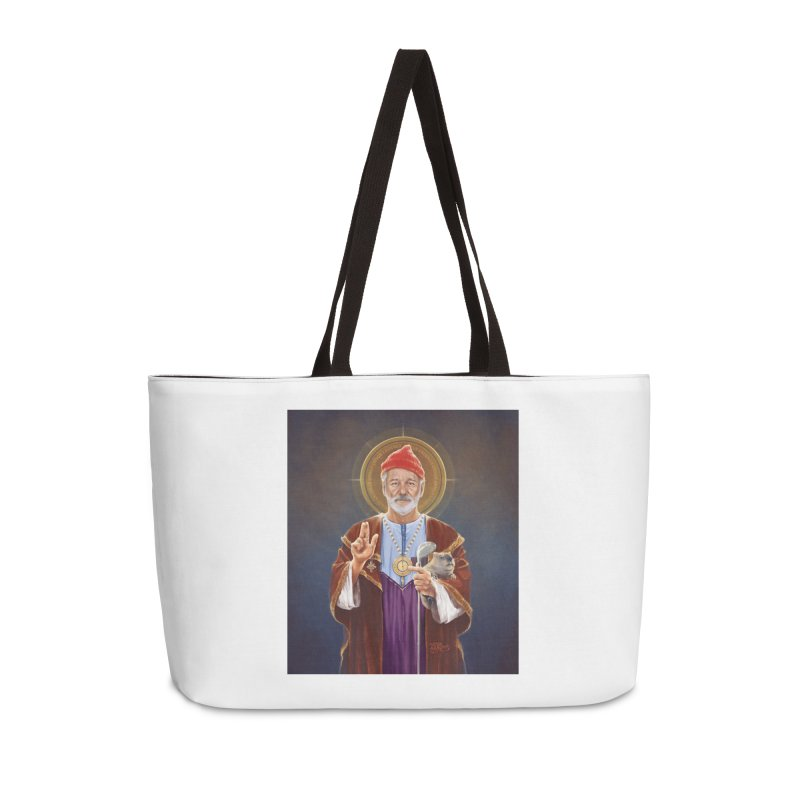 Saint Bill of Murray Accessories Bag by 6amcrisis's Artist Shop
