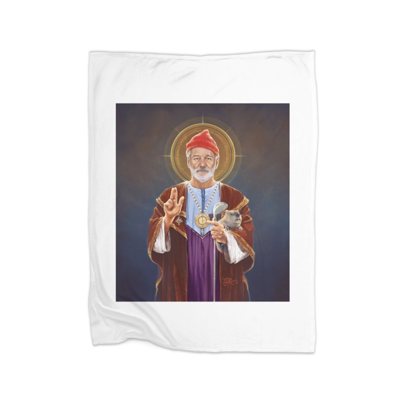 Saint Bill of Murray Home Blanket by 6amcrisis's Artist Shop