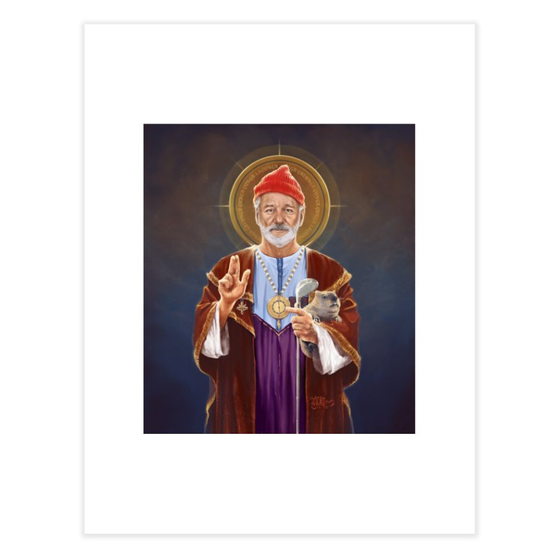 Saint Bill of Murray Home Fine Art Print by 6amcrisis's Artist Shop