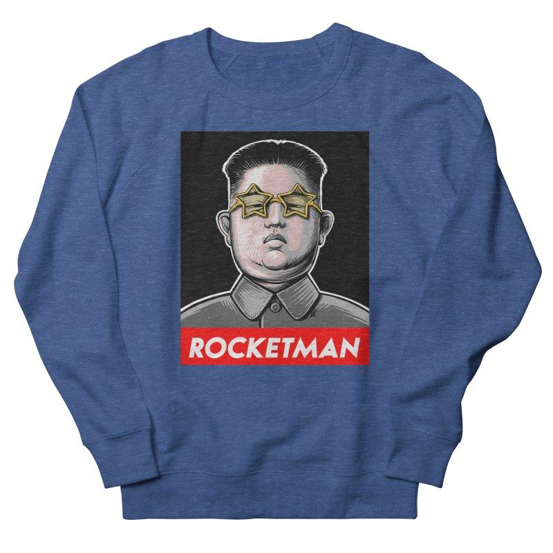 Rocket Man Kim Jong Un Men's Sweatshirt by 6amcrisis's Artist Shop