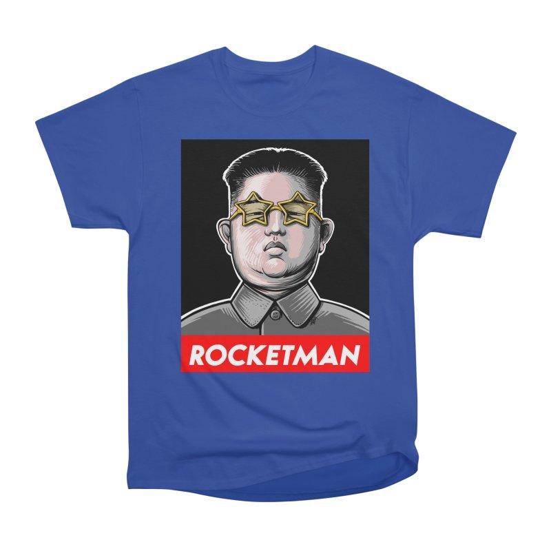 Rocket Man Kim Jong Un Women's Classic Unisex T-Shirt by 6amcrisis's Artist Shop