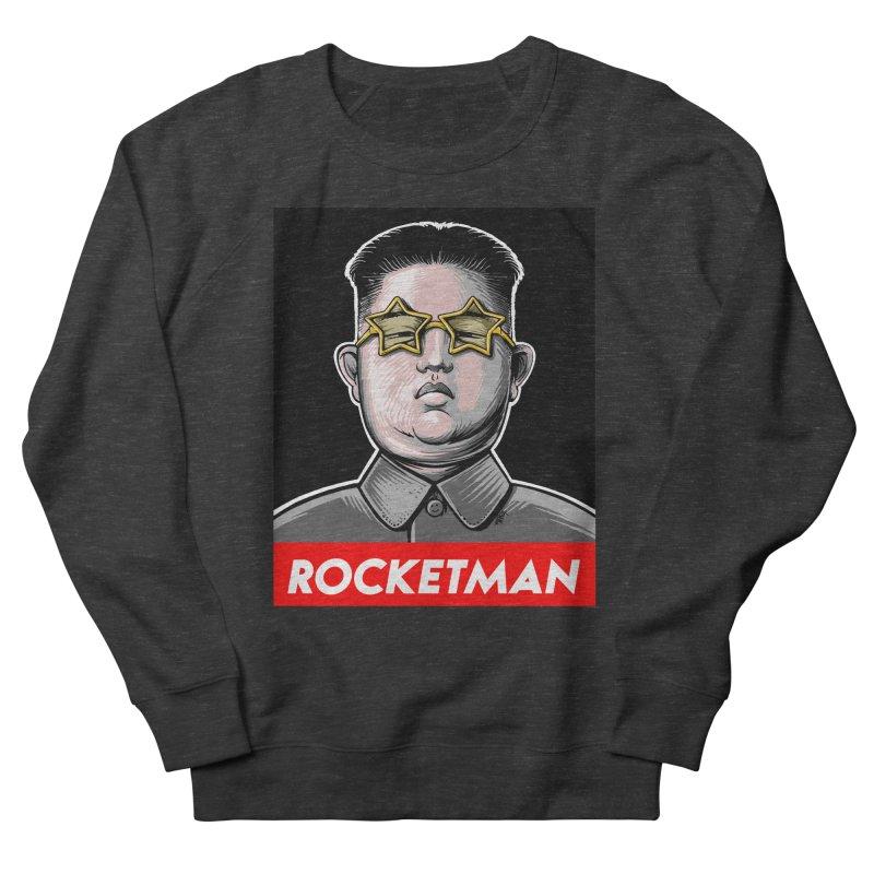 Rocket Man Kim Jong Un Women's French Terry Sweatshirt by 6amcrisis's Artist Shop