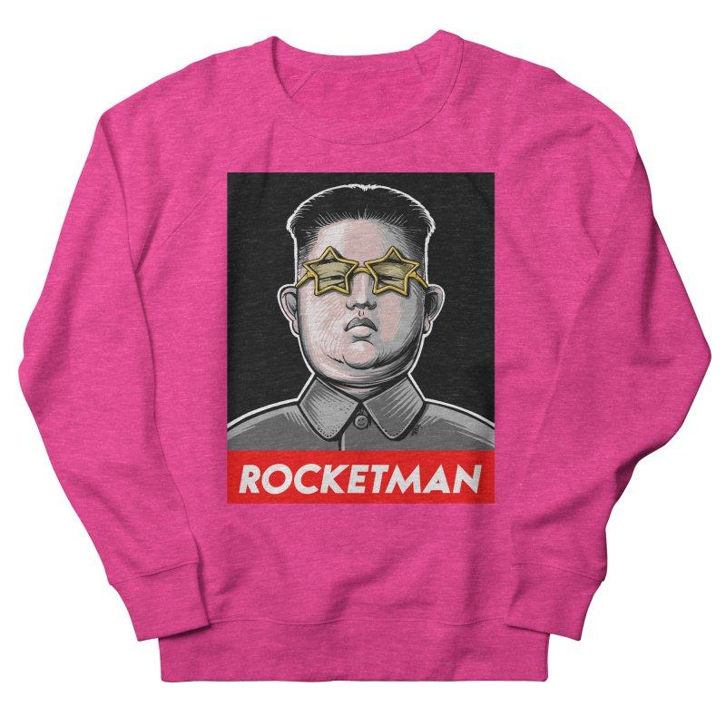 Rocket Man Kim Jong Un Men's French Terry Sweatshirt by 6amcrisis's Artist Shop