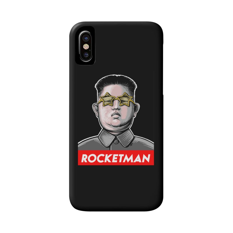 Rocket Man Kim Jong Un Accessories Phone Case by 6amcrisis's Artist Shop