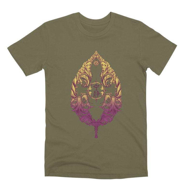 Leaf Victoriana Men's Premium T-Shirt by 6amcrisis's Artist Shop