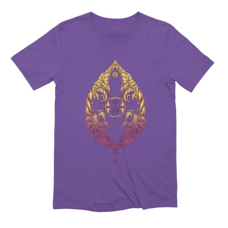 Leaf Victoriana Men's Extra Soft T-Shirt by 6amcrisis's Artist Shop
