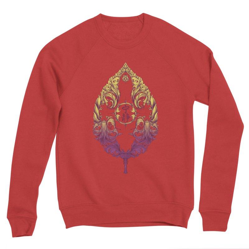 Leaf Victoriana Men's Sponge Fleece Sweatshirt by 6amcrisis's Artist Shop