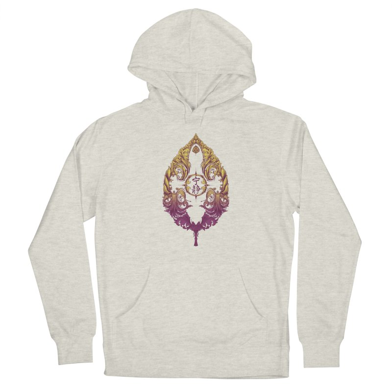 Leaf Victoriana Women's French Terry Pullover Hoody by 6amcrisis's Artist Shop