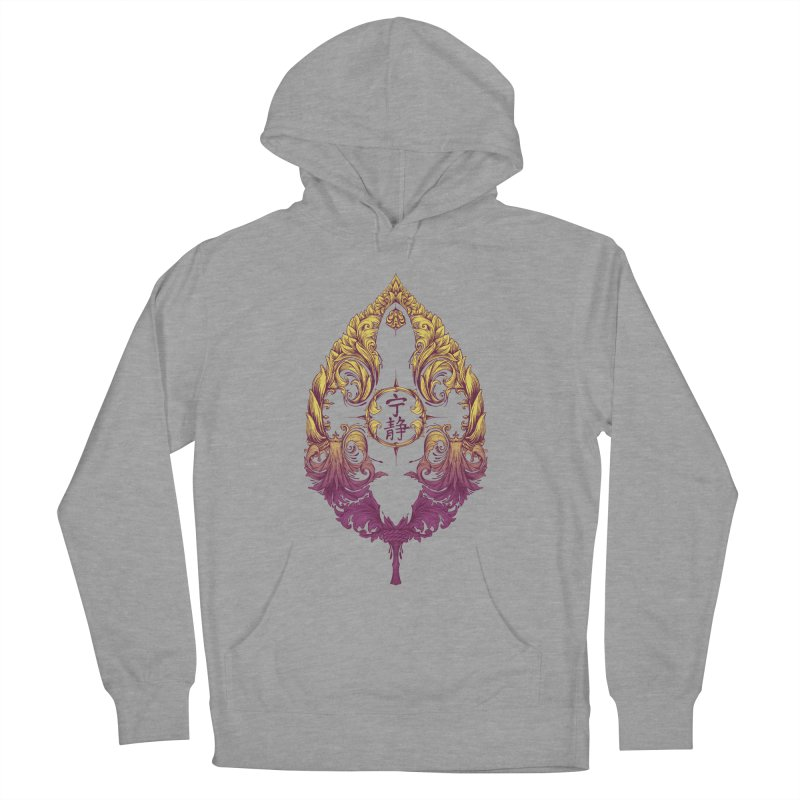 Leaf Victoriana Men's French Terry Pullover Hoody by 6amcrisis's Artist Shop