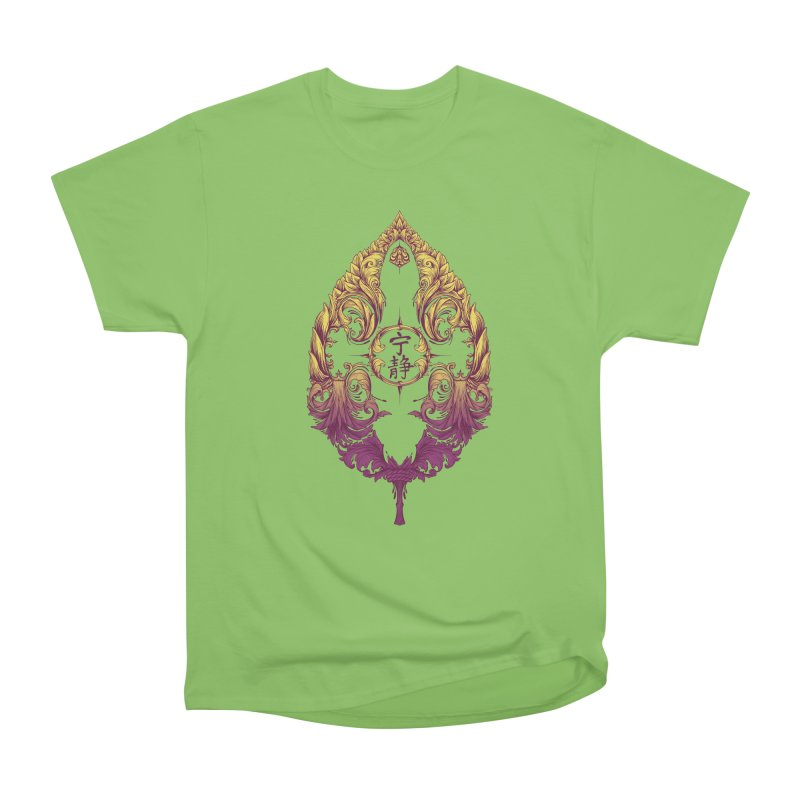 Leaf Victoriana Men's Heavyweight T-Shirt by 6amcrisis's Artist Shop
