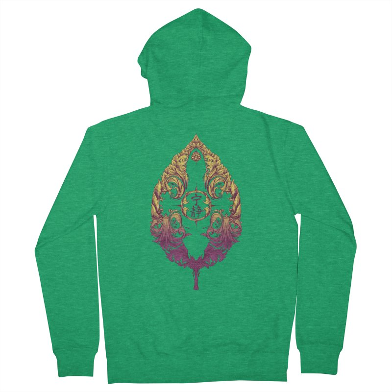 Leaf Victoriana Women's Zip-Up Hoody by 6amcrisis's Artist Shop