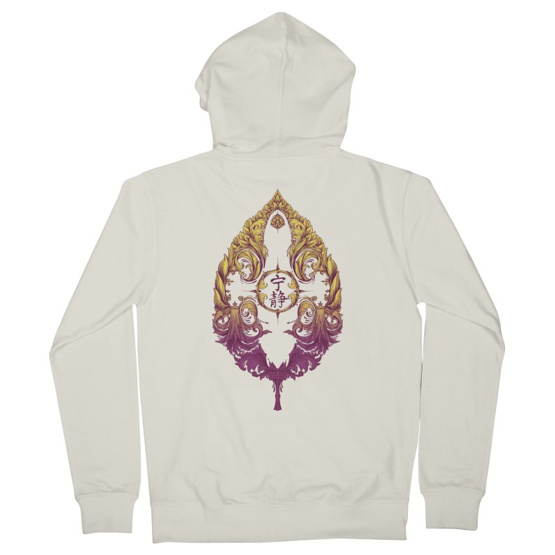 Leaf Victoriana Women's French Terry Zip-Up Hoody by 6amcrisis's Artist Shop