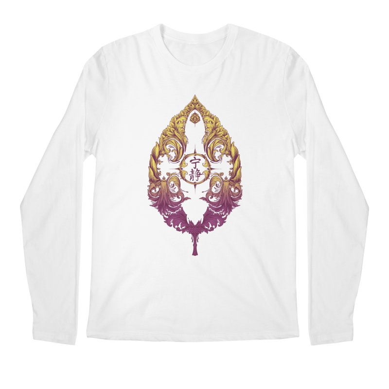 Leaf Victoriana Men's Longsleeve T-Shirt by 6amcrisis's Artist Shop