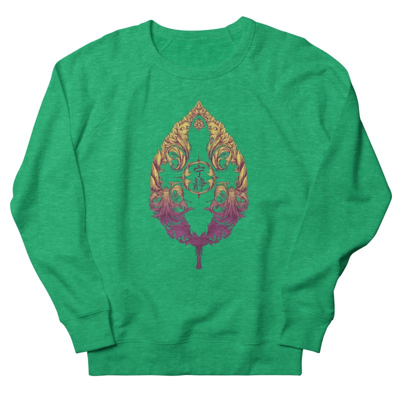 Leaf Victoriana Men's French Terry Sweatshirt by 6amcrisis's Artist Shop