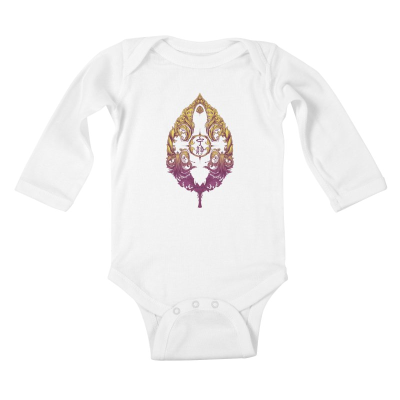 Leaf Victoriana Kids Baby Longsleeve Bodysuit by 6amcrisis's Artist Shop