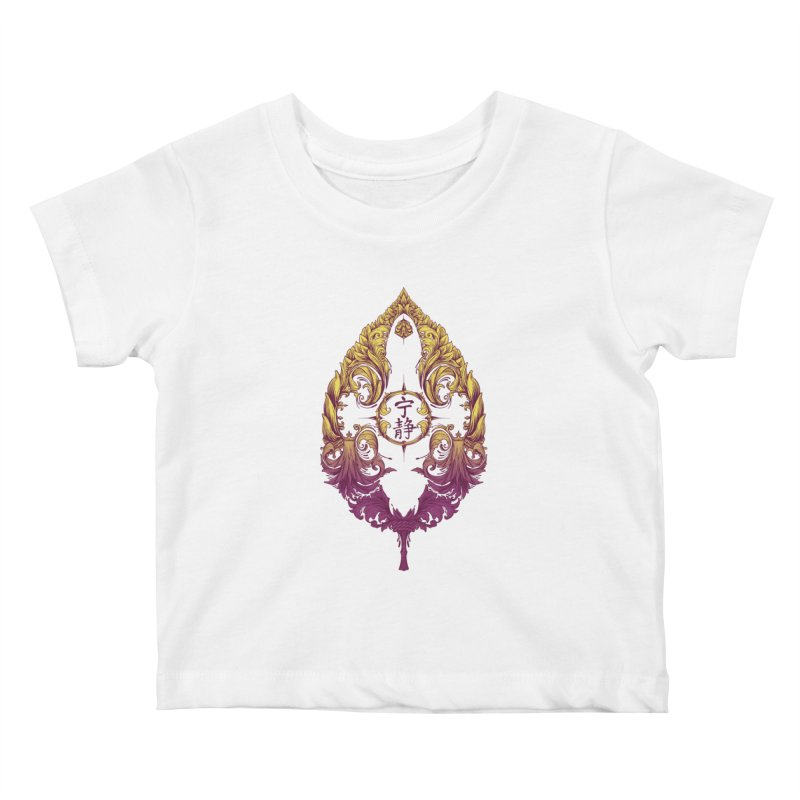 Leaf Victoriana Kids Baby T-Shirt by 6amcrisis's Artist Shop