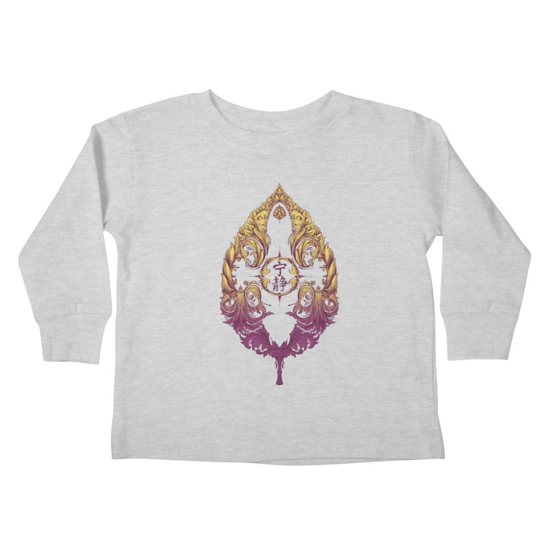 Leaf Victoriana Kids Toddler Longsleeve T-Shirt by 6amcrisis's Artist Shop