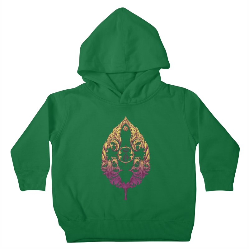 Leaf Victoriana Kids Toddler Pullover Hoody by 6amcrisis's Artist Shop